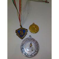 Три спортивные медали