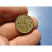 2 гроша 1937 г. Речь Посполита (10)