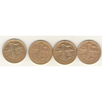 5 центов 1997, 1999 г.