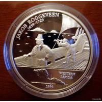 Самоа 10 $ 1994 Роггевен, серебро, пруф