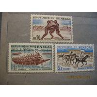 Сенегал.  Спорт. 1961г.